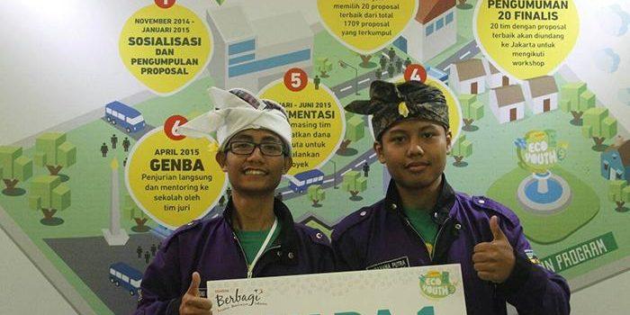 SMAN 6 Denpasar Juara I Nasional Toyota Eco Youth