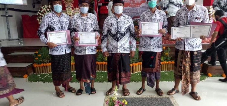 Guru SMA N 6 Denpasar Raih Medali Dalam Lomba Gurulympics PGRI 2020 Tingkat Nasional dlm HUT ke 75 PGRI dan HGN 2020