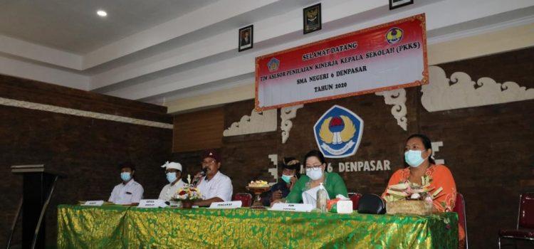 Penilaian Kinerja Kepala Sekolah Oleh Tim Asesor dan Pengawas Dinas Pendidikan Kepemudaan dan Olahraga Provinsi Bali