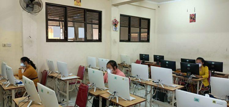 Pelaksanaan KSN-K 2021 SMA Negeri 6 Denpasar